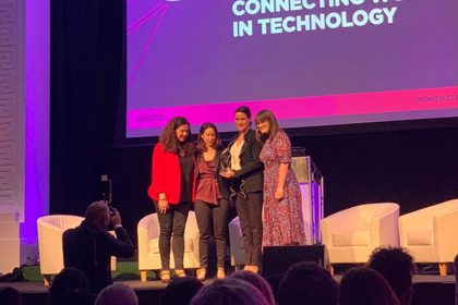 Connecting Women in Technology scoops Initiative Award at Women in Tech Awards