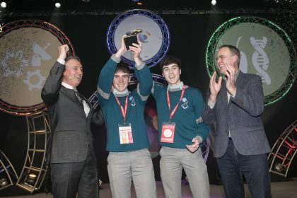 CWIT commends the winning project at the 56th BT Young Scientist & Technology Exhibition