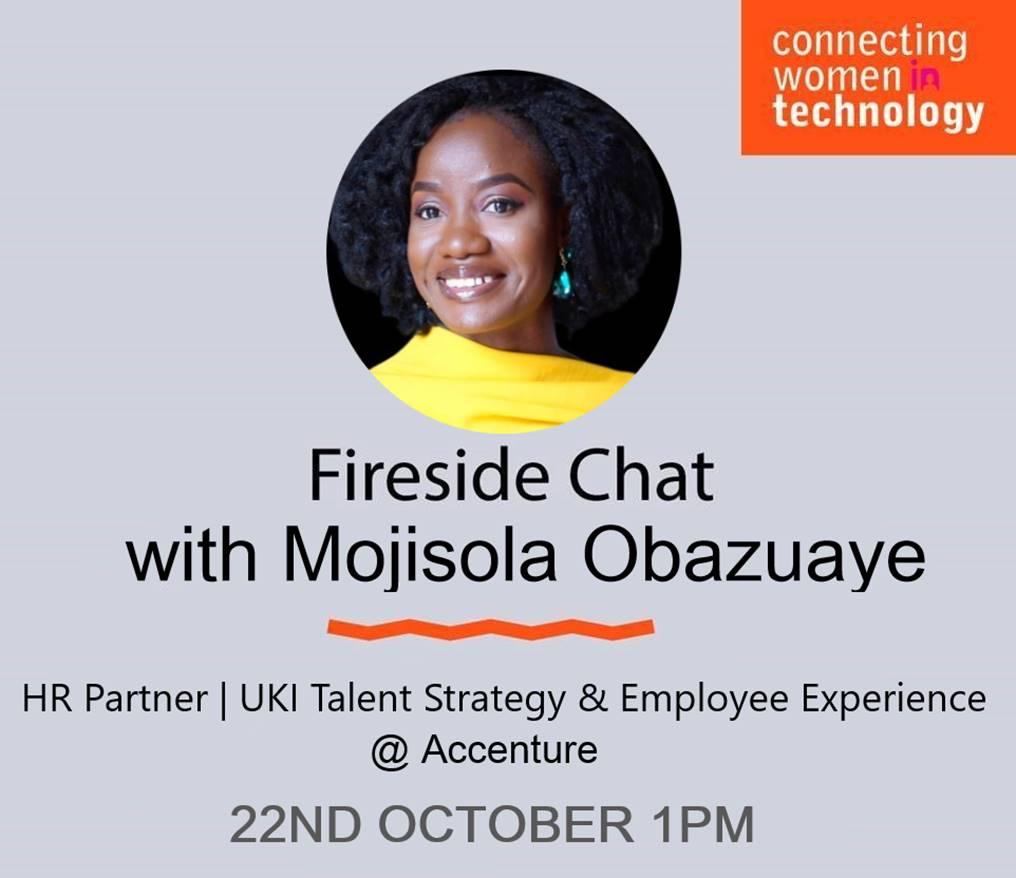 CWiT Fireside Chat with Mojisola Obazuaye